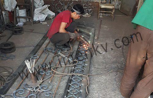 ساخت درب فلزی نفر رو