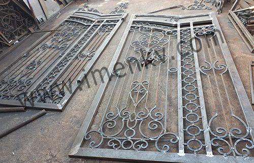 ساخت درب فلزی