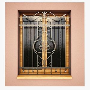 حفاظ و درب آکاردئونی ، حفاظ پنجره ، حفاظ روی دیوار